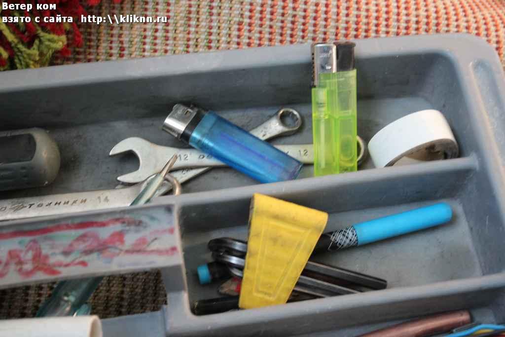 Коробка с инструментами